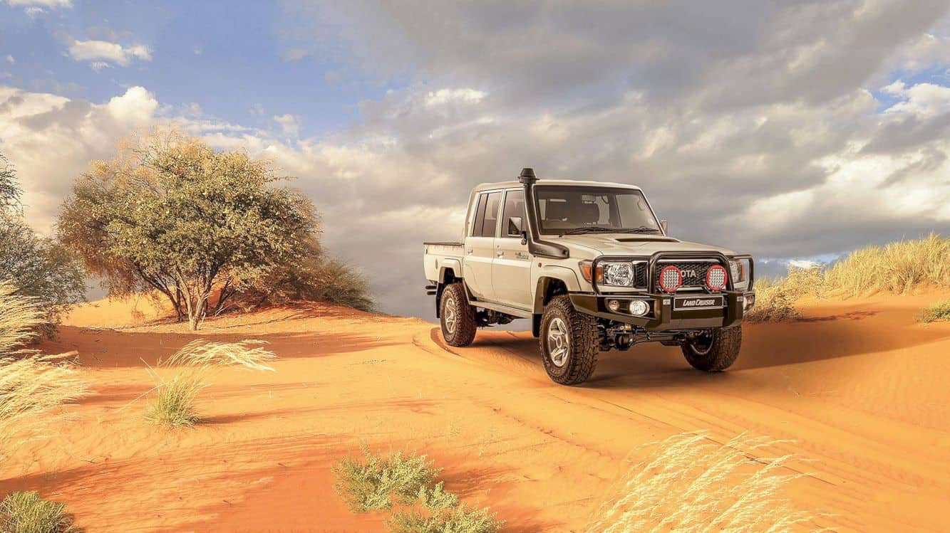 Toyota Land Cruiser 70 Series Namib 8