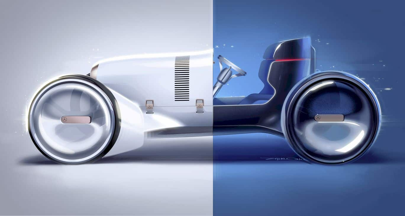 Vision Mercedes Simplex: An Icon for The Heritage and Future of The Brand