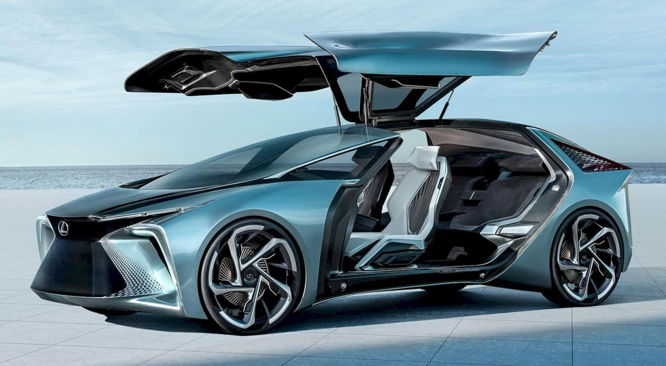 Lexus LF-30 Concept: An Electrified Leap Forward
