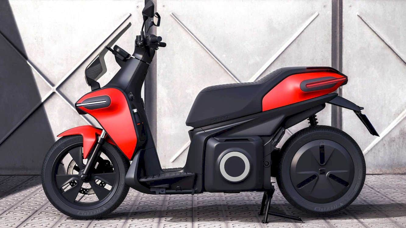 SEAT e-Scooter Concept: The future of urban mobility.