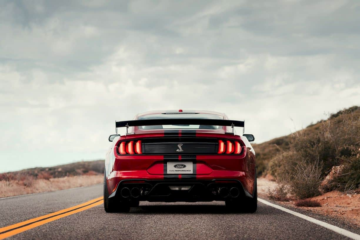 2020 Ford Mustang Shelby Gt500 4