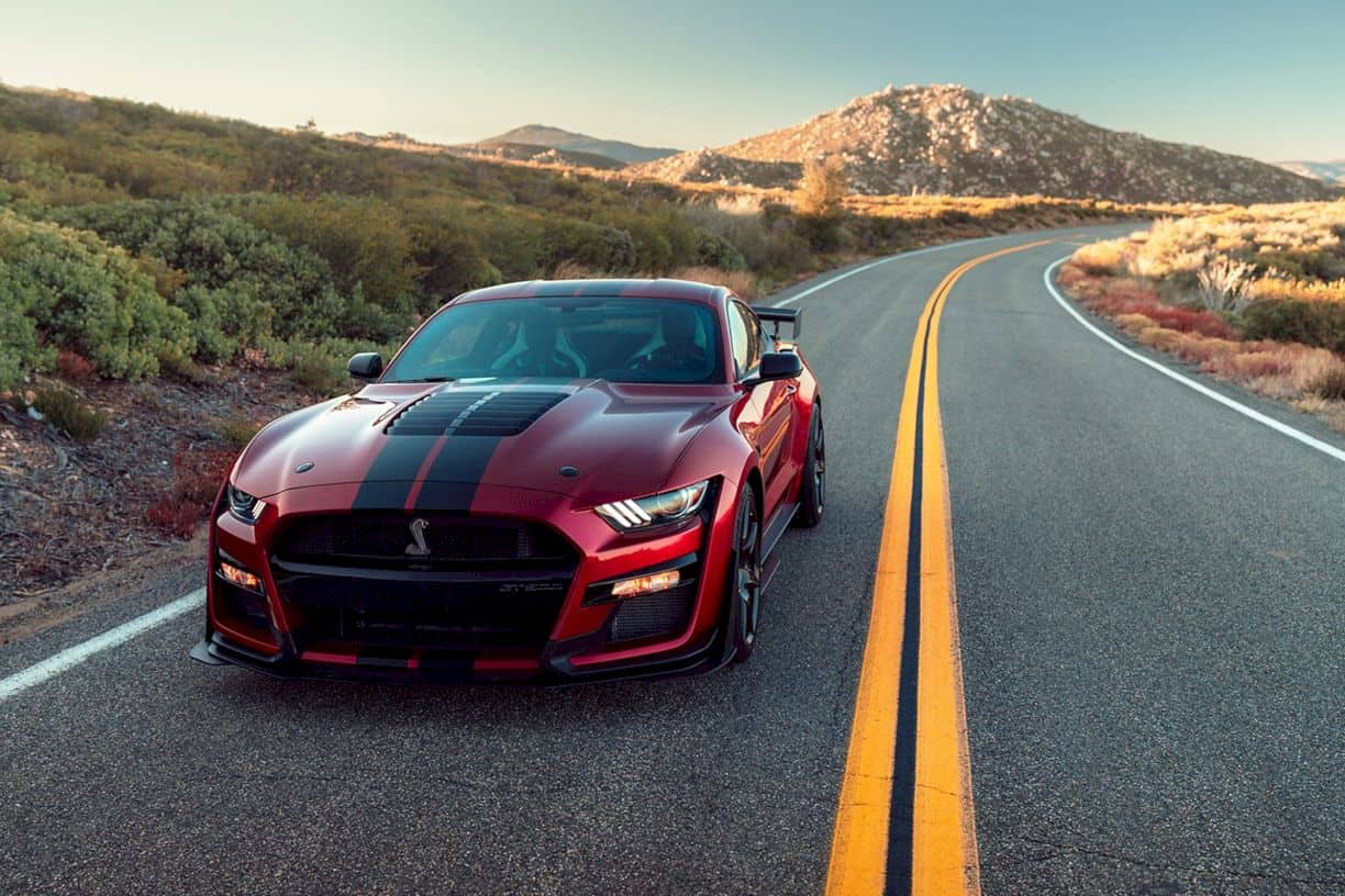 2020 Ford Mustang Shelby Gt500 6