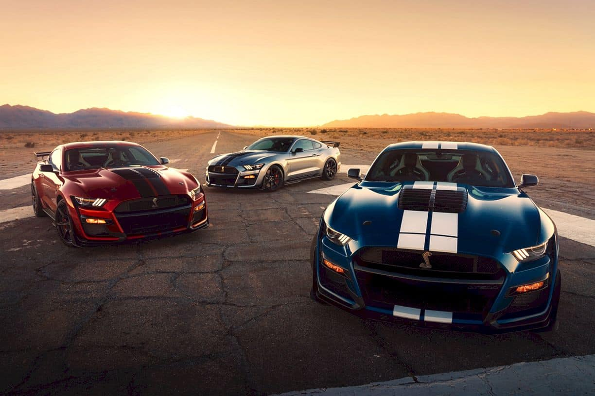 2020 Ford Mustang Shelby Gt500 8