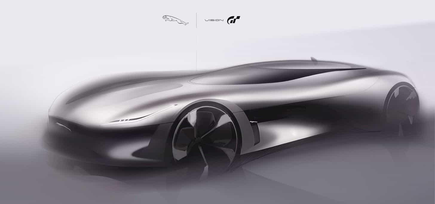 All Electric Jaguar Vision Gt Coupé 1