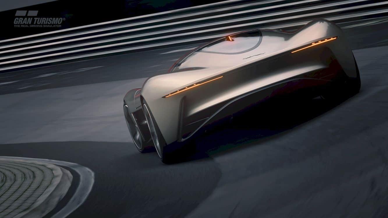 All Electric Jaguar Vision Gt Coupé 10