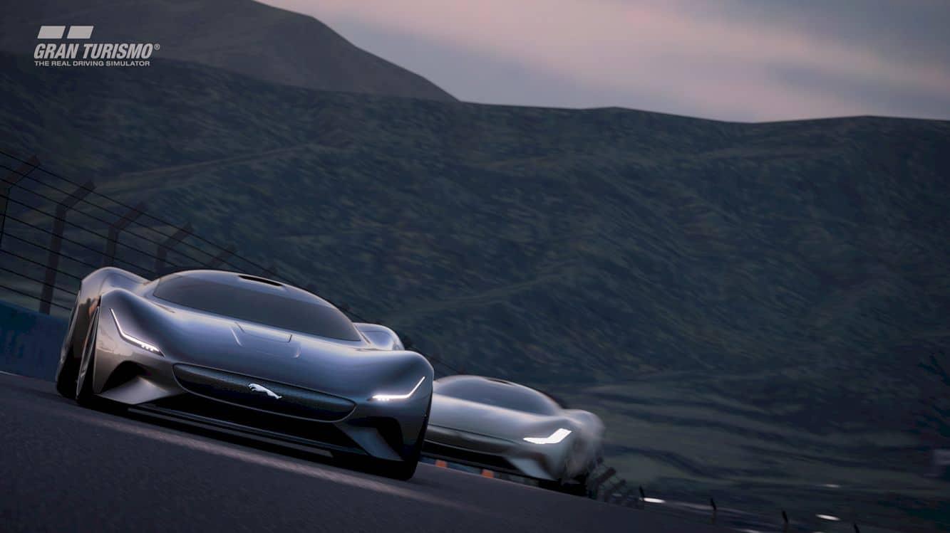 All Electric Jaguar Vision Gt Coupé 11