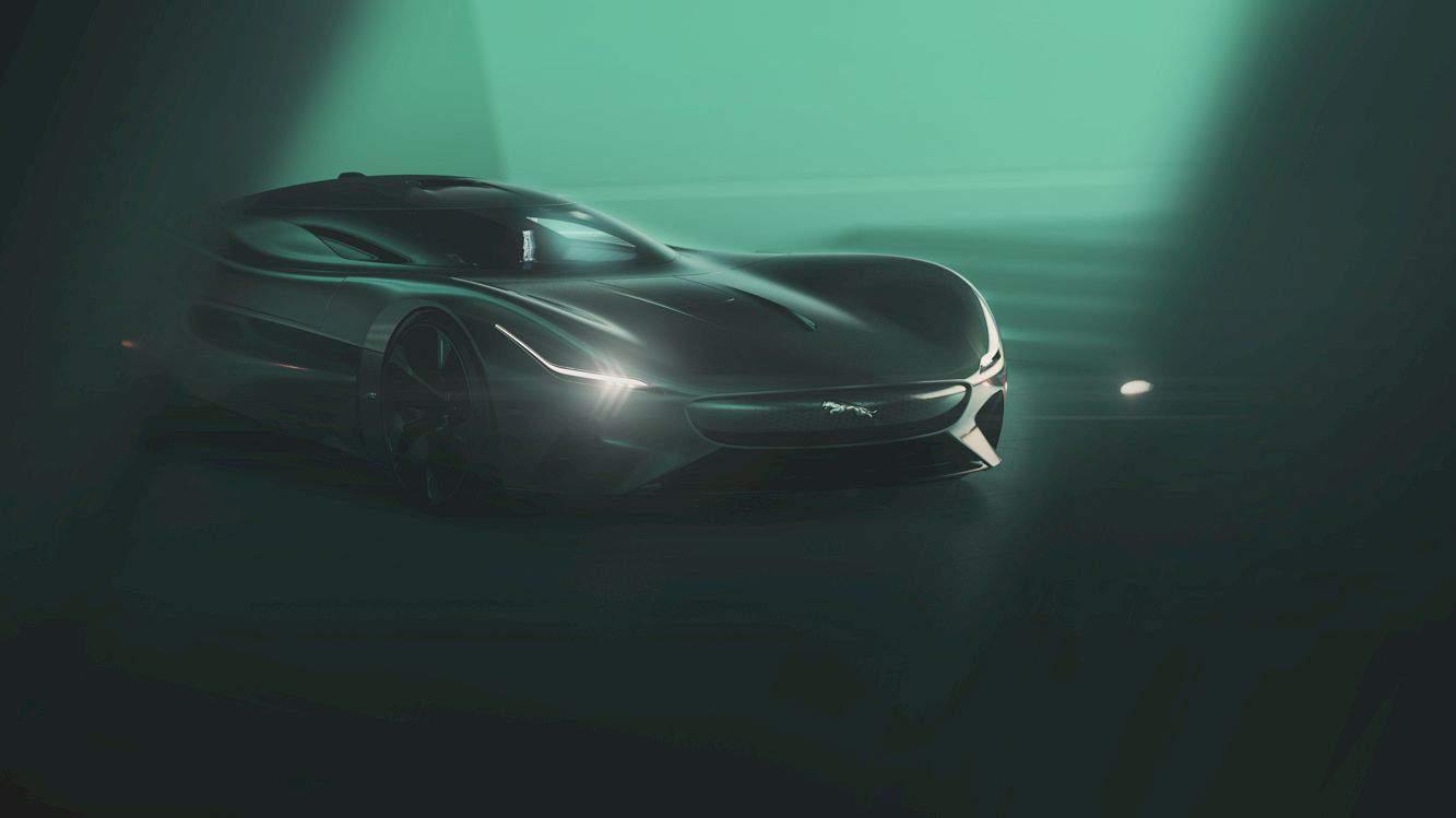 All Electric Jaguar Vision Gt Coupé 14
