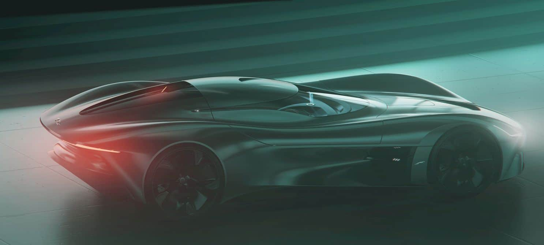 All Electric Jaguar Vision Gt Coupé 15