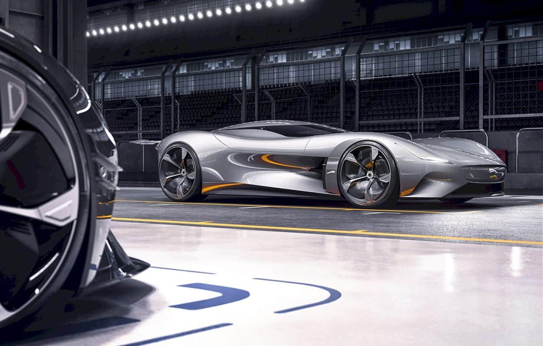 All Electric Jaguar Vision Gt Coupé 16