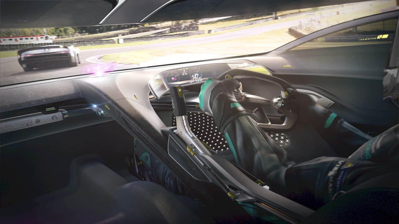 All Electric Jaguar Vision Gt Coupé 5