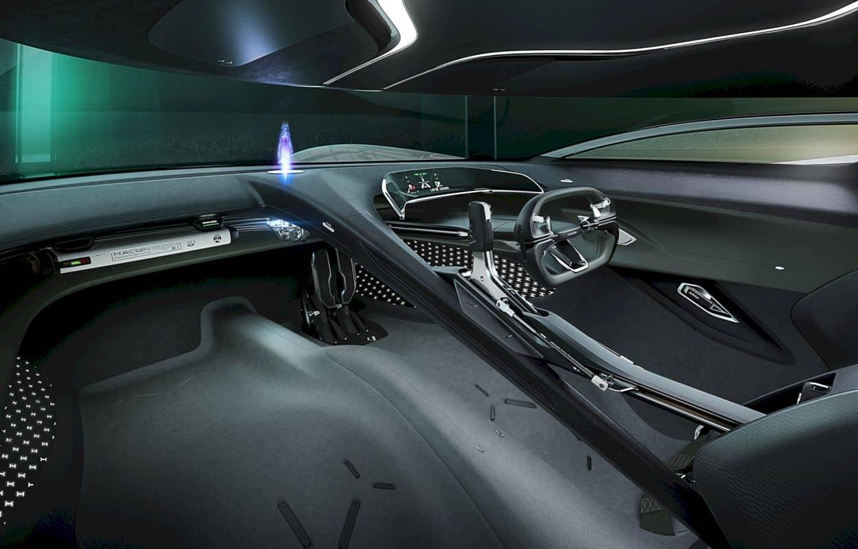 All Electric Jaguar Vision Gt Coupé 7