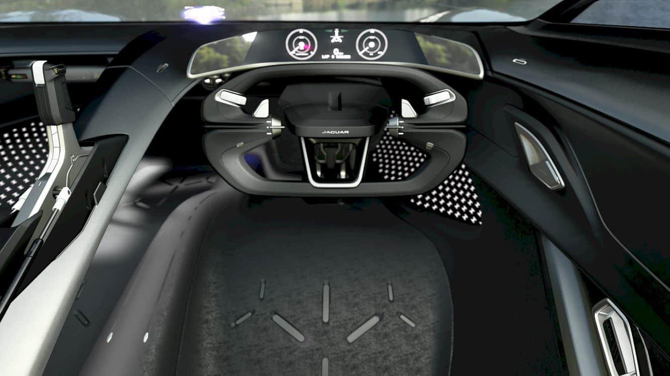 All Electric Jaguar Vision Gt Coupé 8