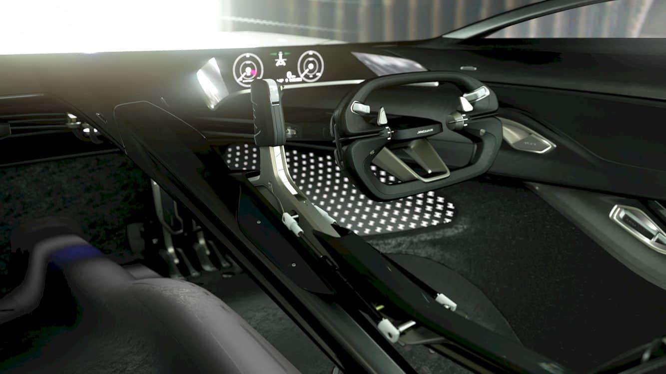 All Electric Jaguar Vision Gt Coupé 9