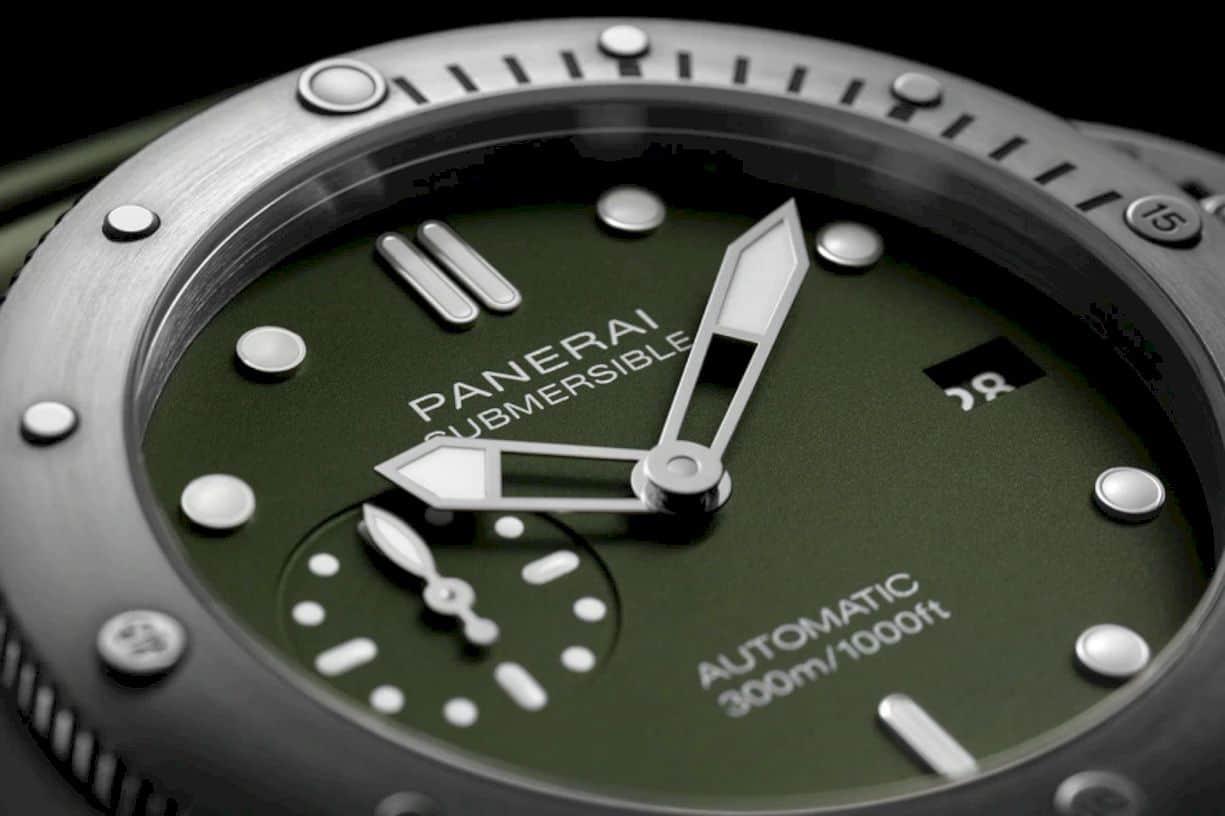 Panerai Submersible Verde Militare 1