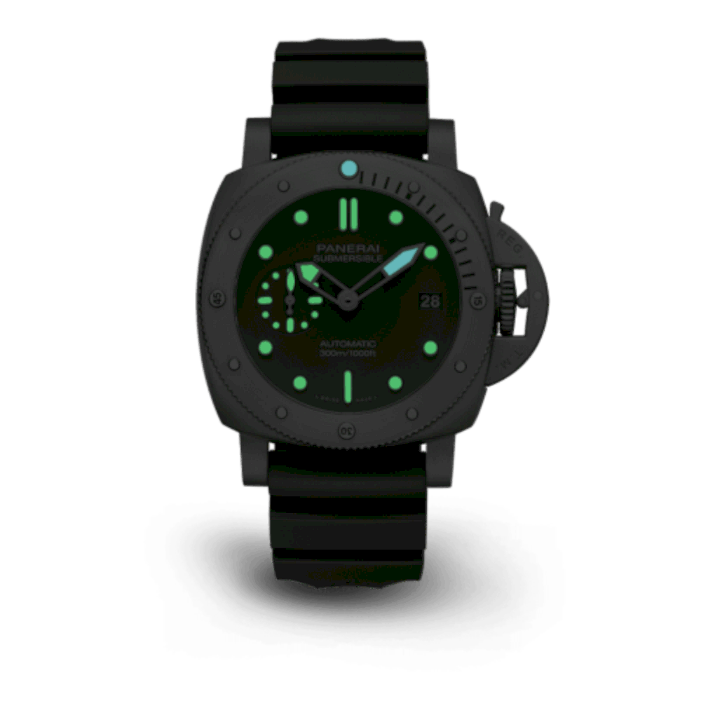 Panerai Submersible Verde Militare 12
