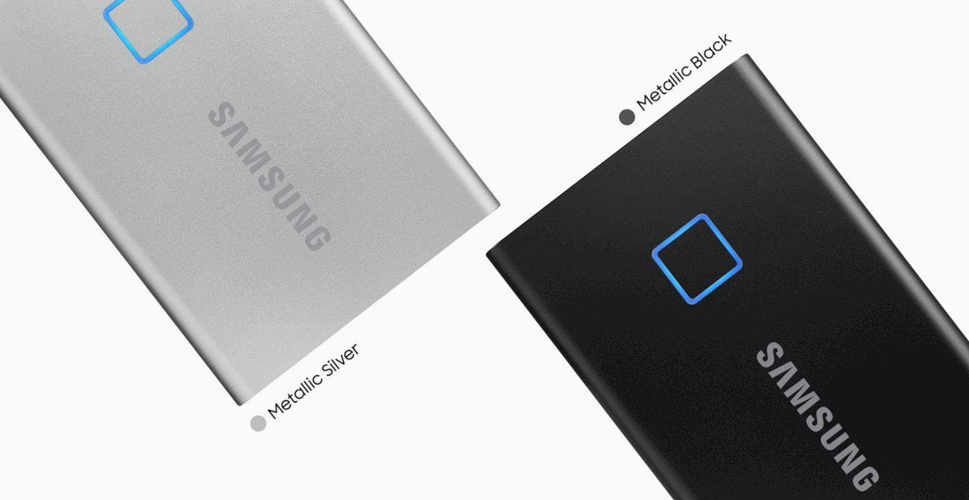 Samsung Portable Ssd T7 Touch 1
