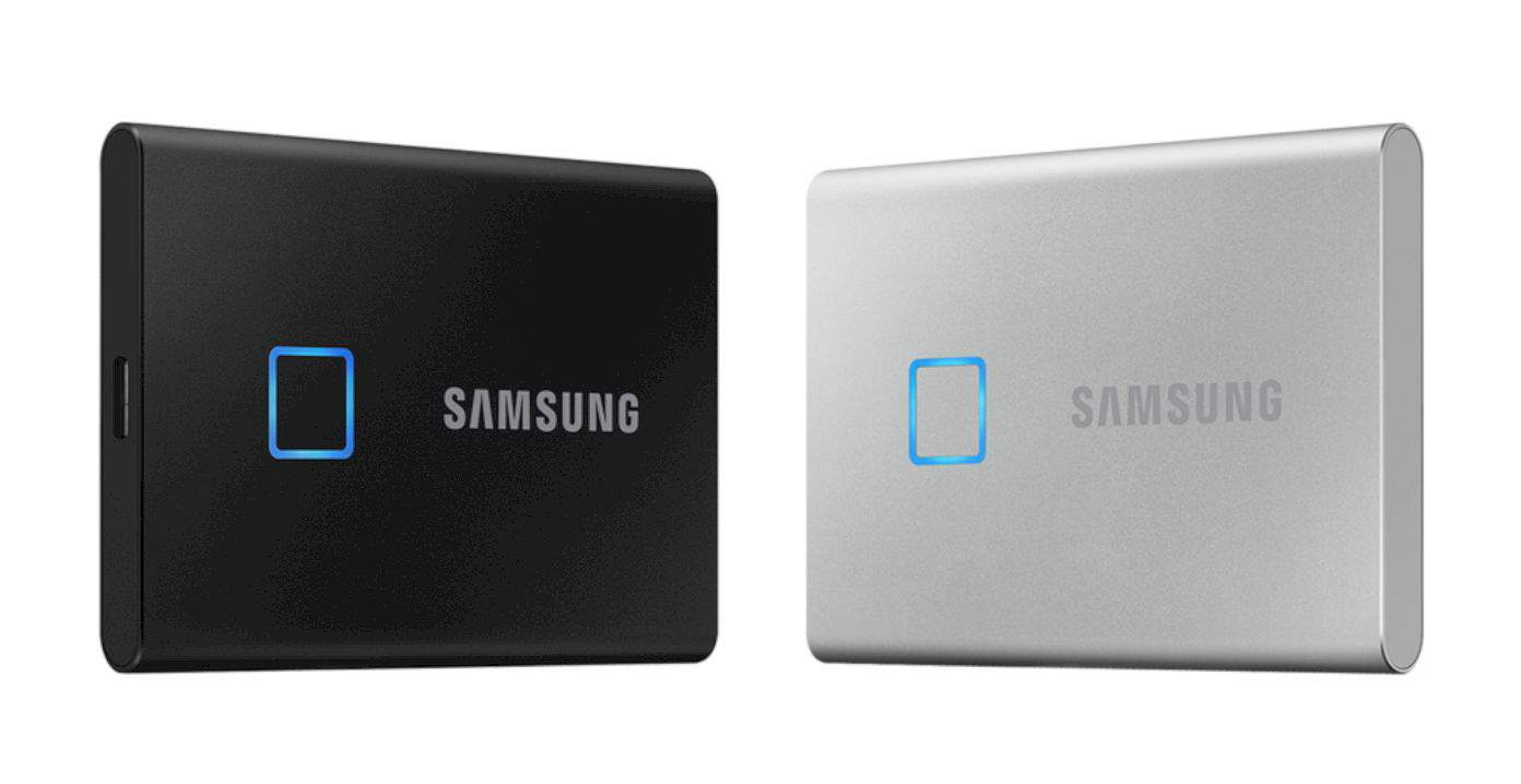 Samsung Portable Ssd T7 Touch 2