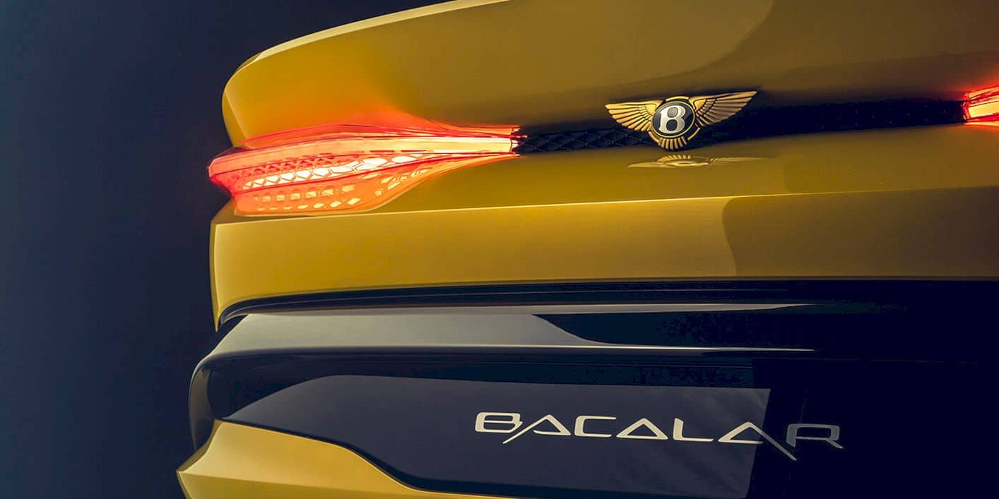Bentley Mulliner Bacalar 3
