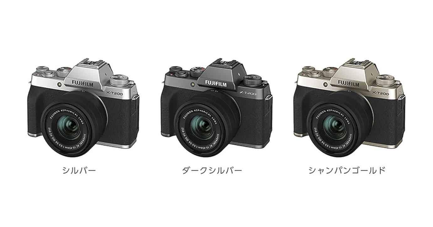 Fujifilm X T200 2
