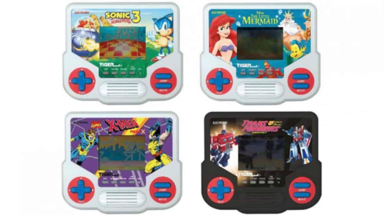 Hasbro Tiger Electronics Lcd Handheld 3