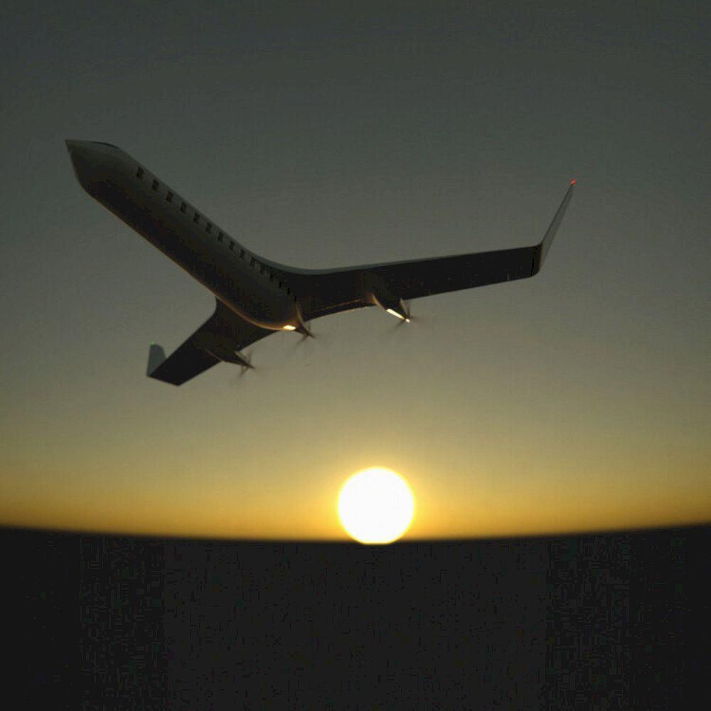 Her0 Zero Emission Passenger Plane 2