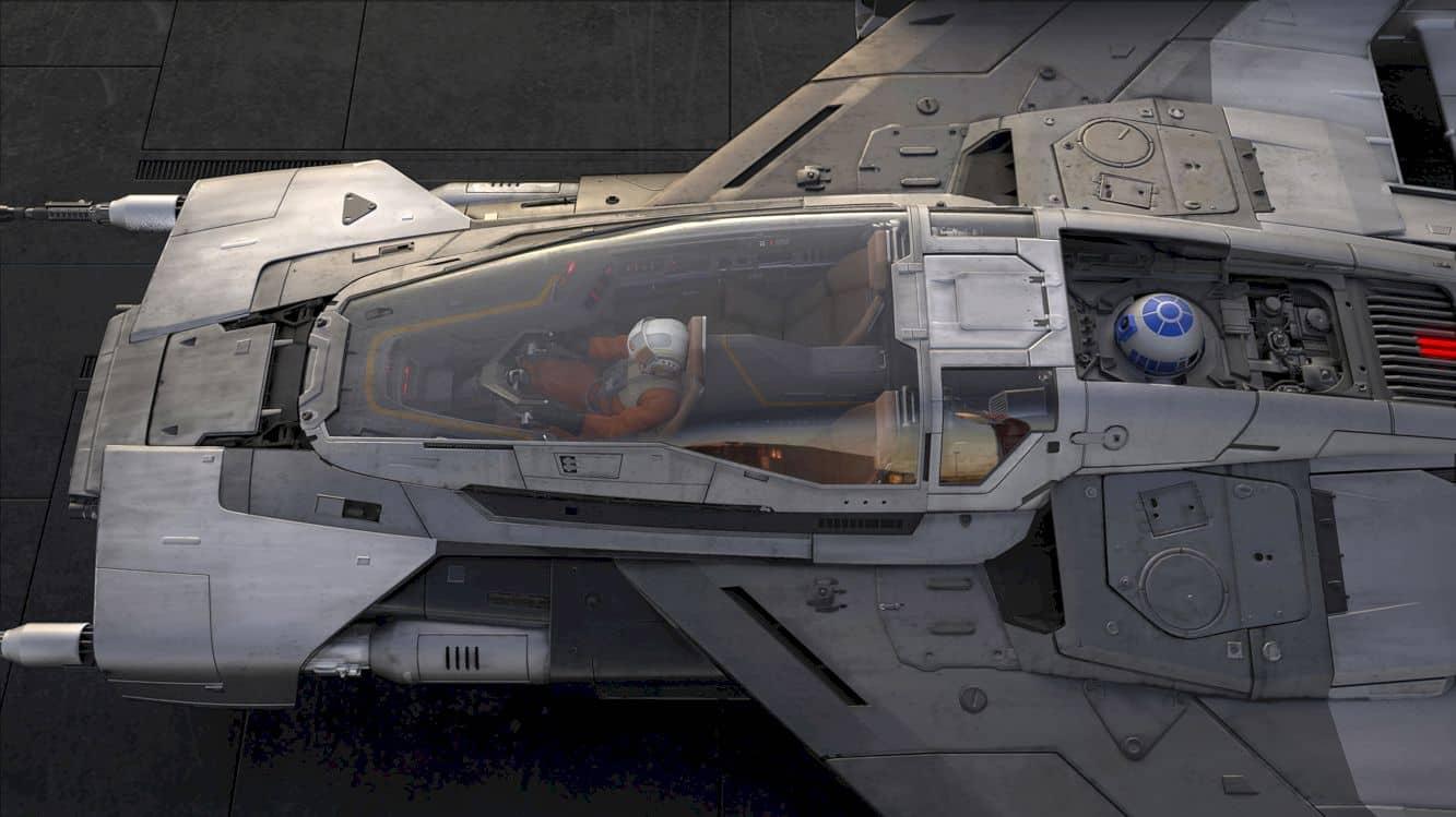 Porsche X Lucasfilm Starship Design 1