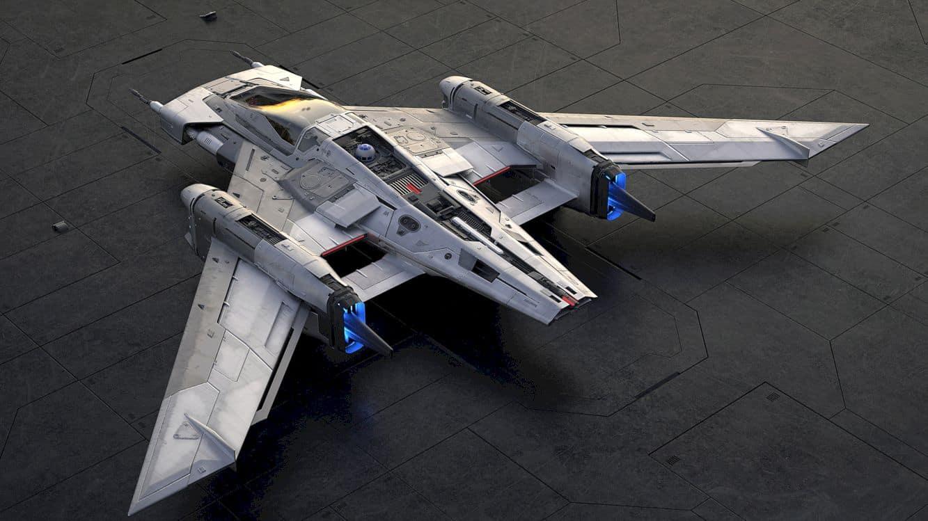 Porsche X Lucasfilm Starship Design 5