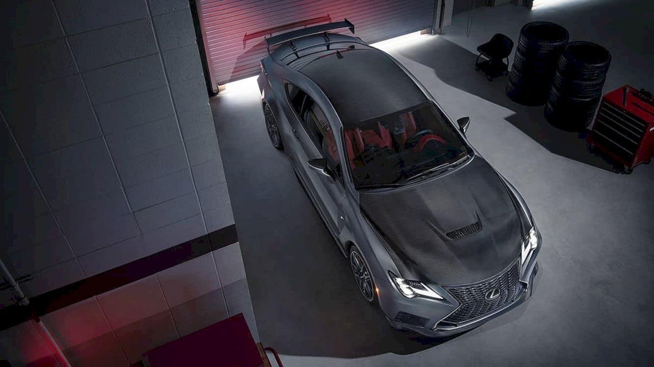 2020 Lexus Rc F Track Edition 3