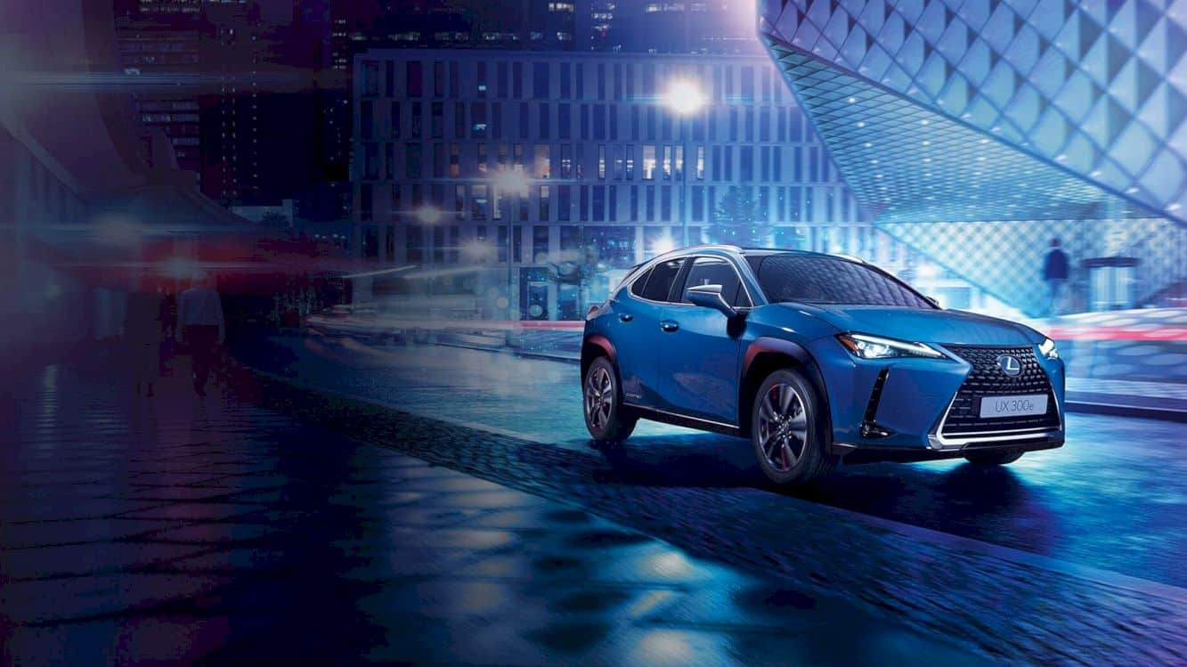 Lexus All Electric Ux 300e 4