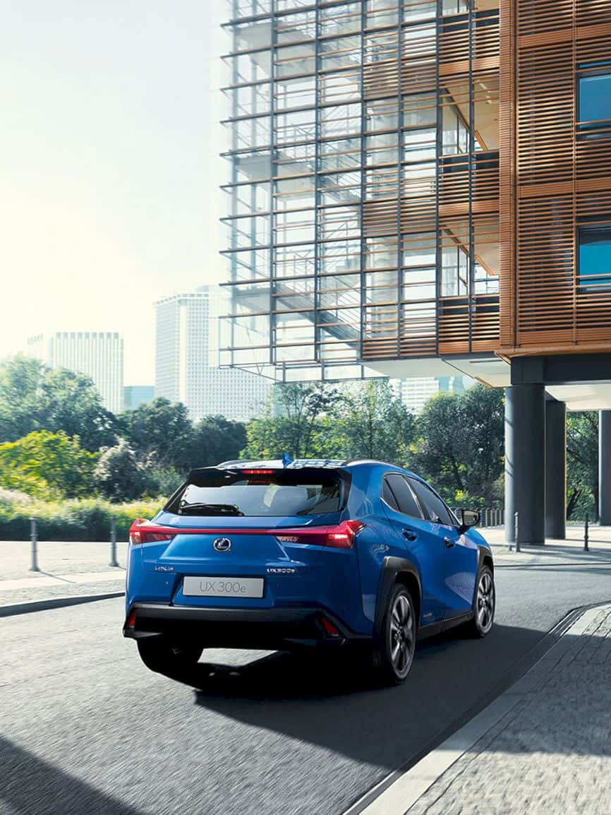 Lexus All Electric Ux 300e 5