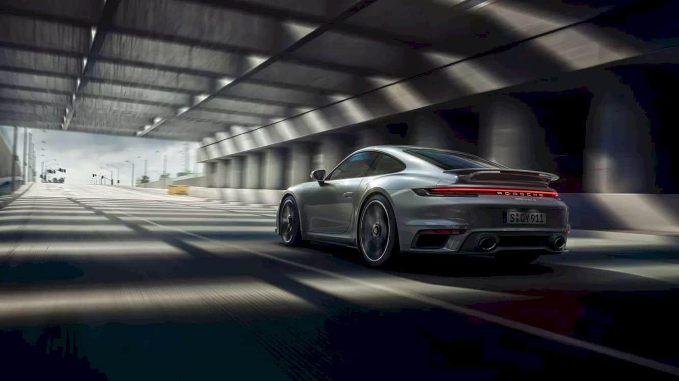 New Porsche 911 Turbo S 8