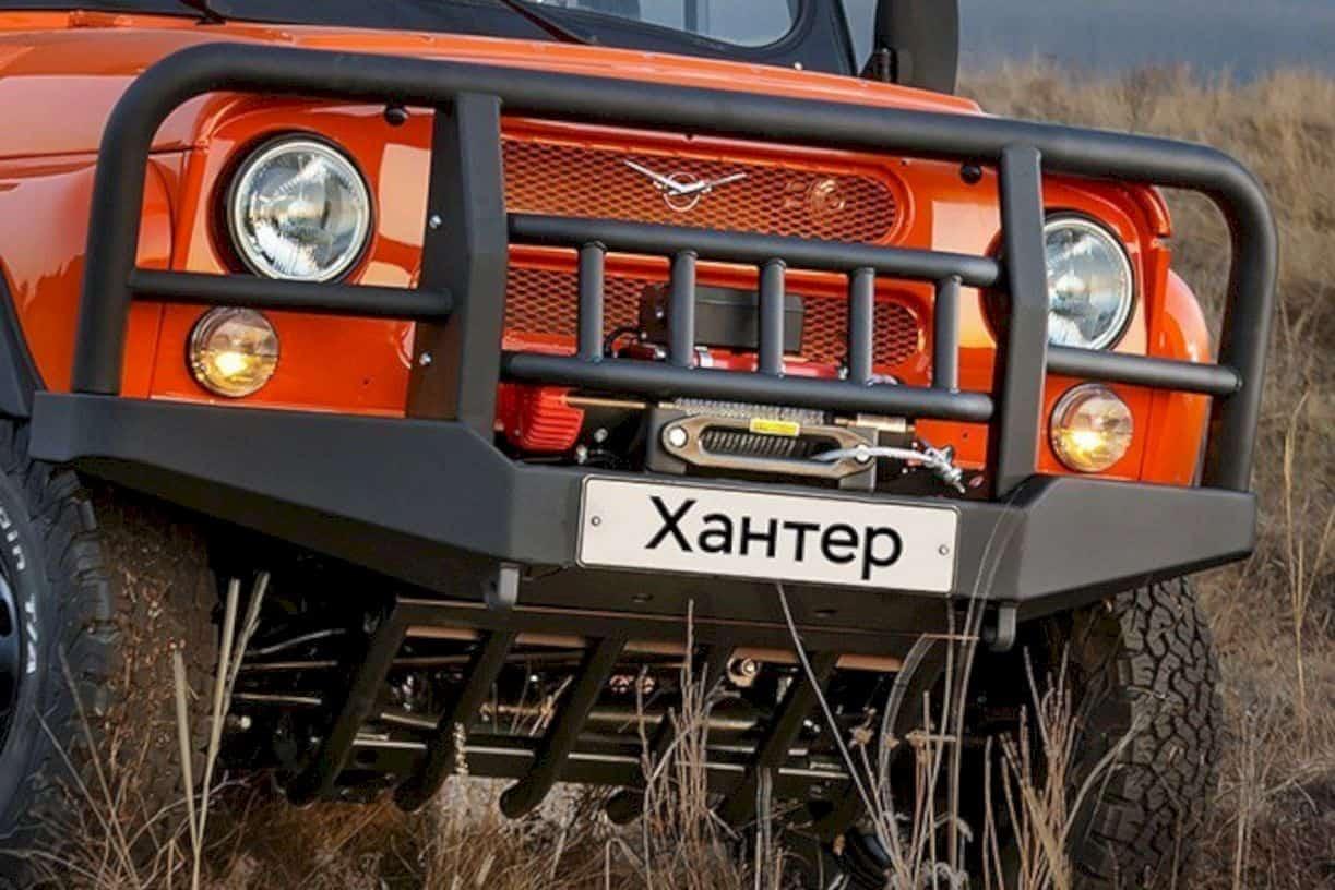 Uaz Hunter Expedition 2