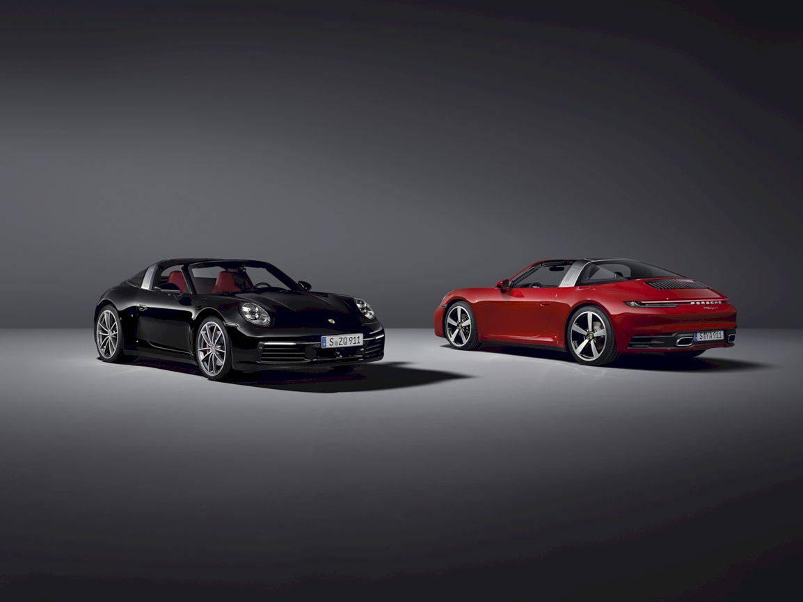 2021 Porsche 911 Targa 3