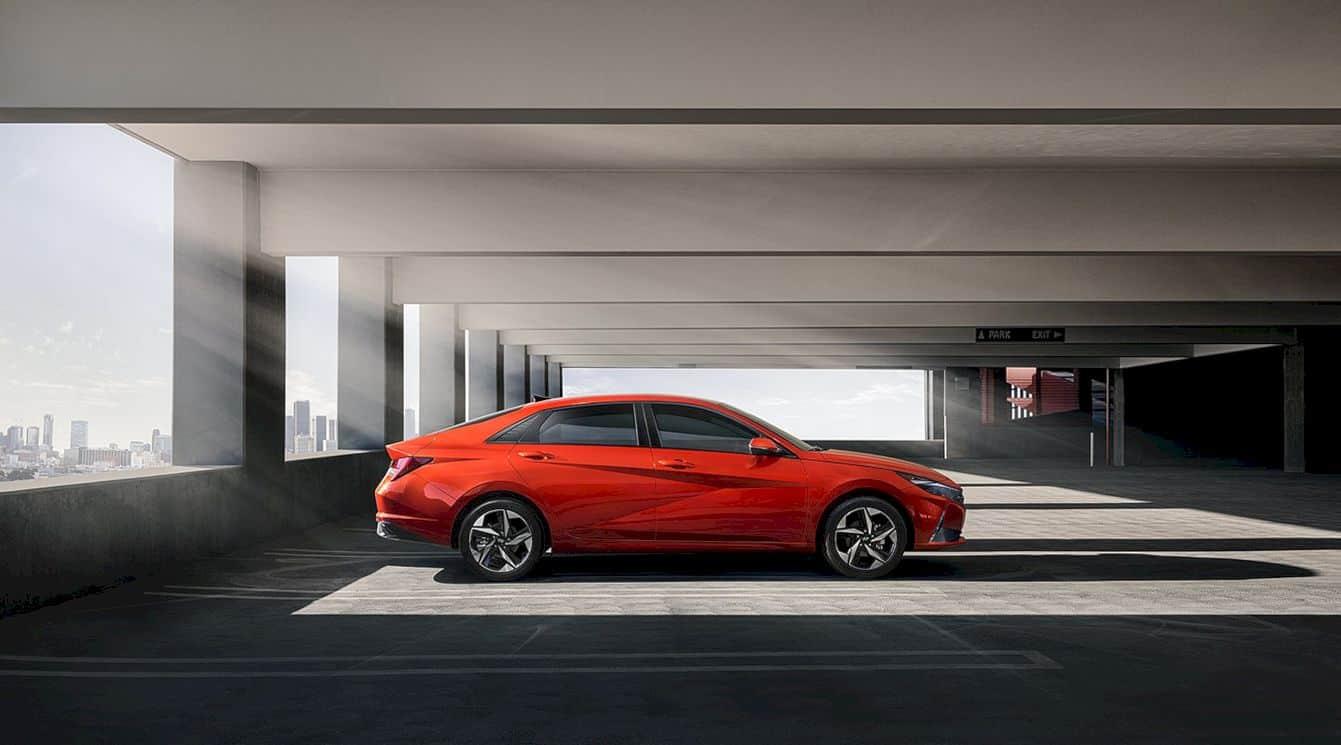 The All New 2021 Hyundai Elantra 1