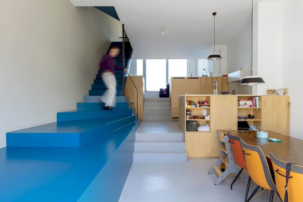 Blue House By Beta Office 2