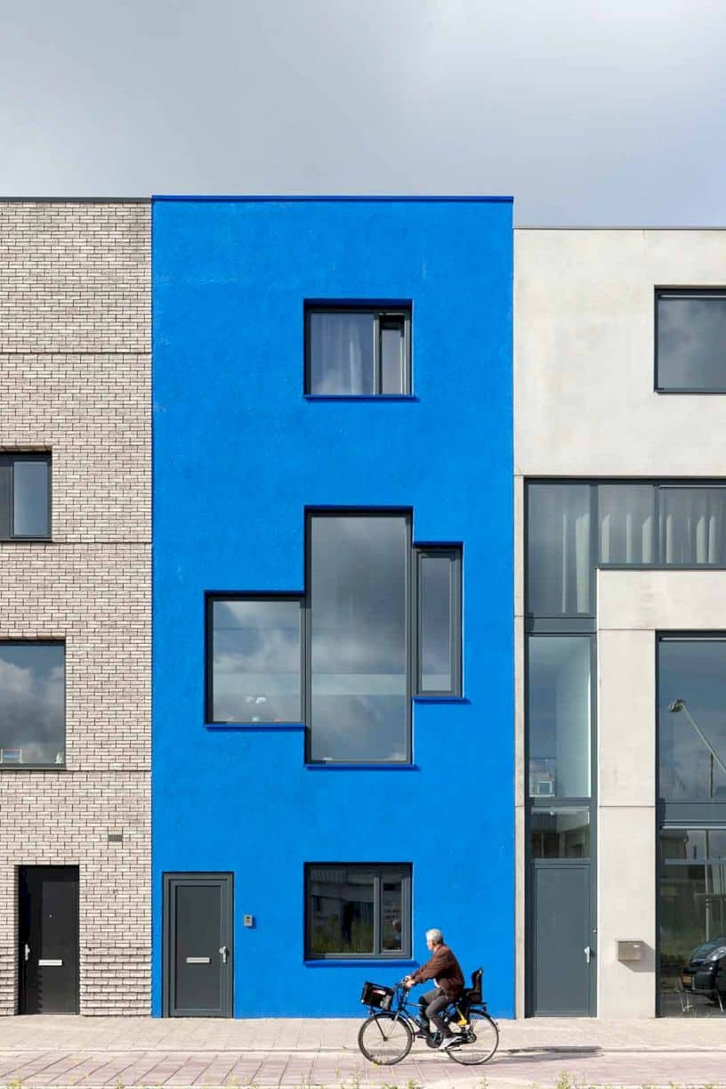Blue House By Beta Office 6