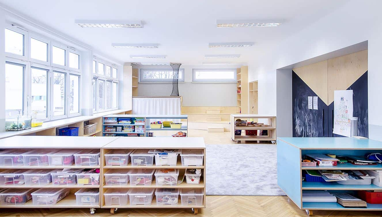 Interior In Kindergarten Nr 42 Kwiaty Polskie By Atelier Starzak Strebicki 1