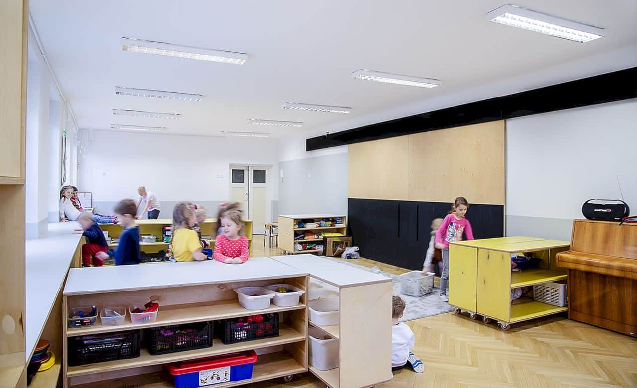 Interior In Kindergarten Nr 42 Kwiaty Polskie By Atelier Starzak Strebicki 4