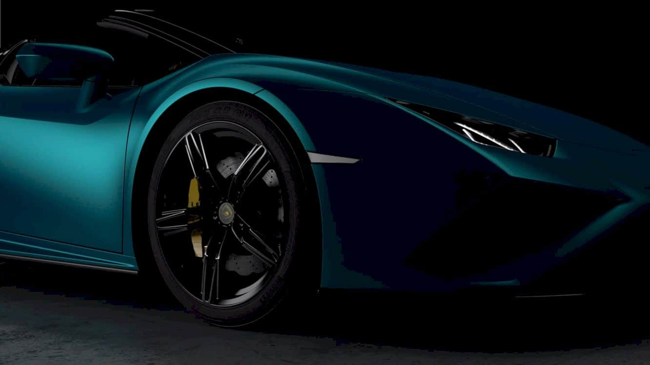 Lamborghini Huracán Evo Rwd Spyder 1