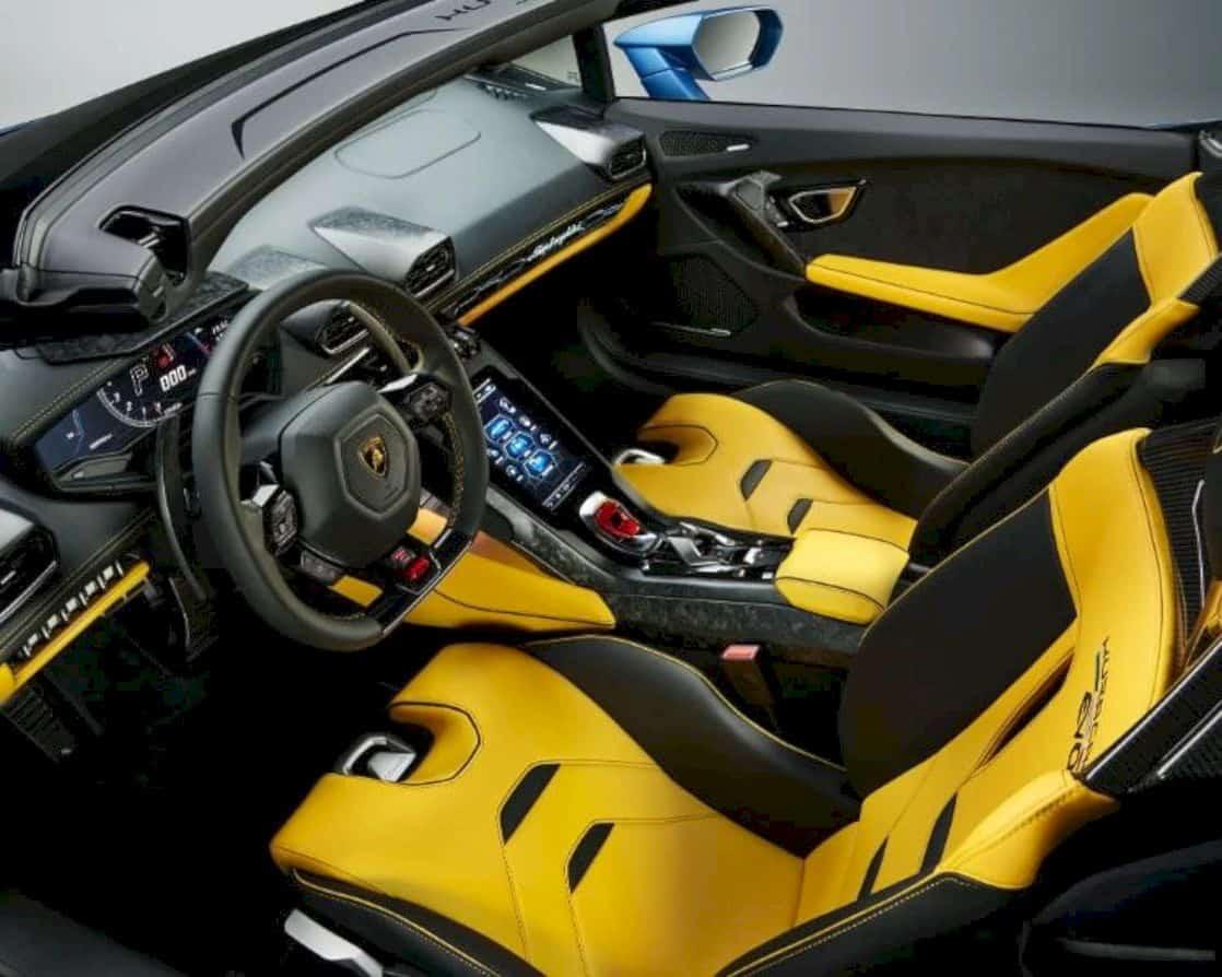 Lamborghini Huracán Evo Rwd Spyder 6