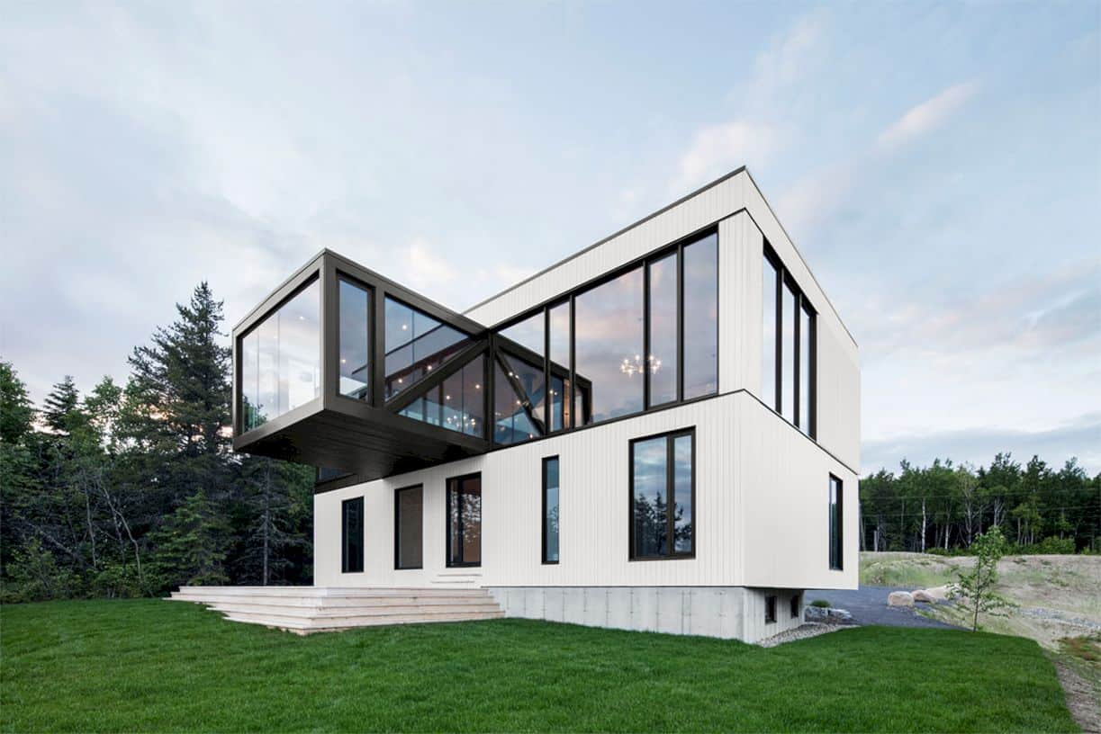Chalet Blanche By Acdf Architecture 1
