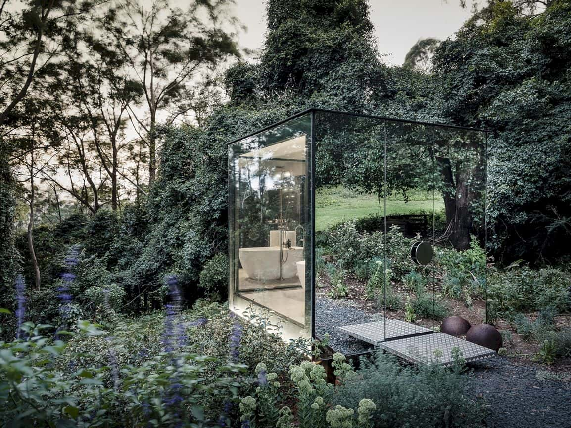 Kangaroo Valley Outhouse By Madeleine Blanchfield Architects 2