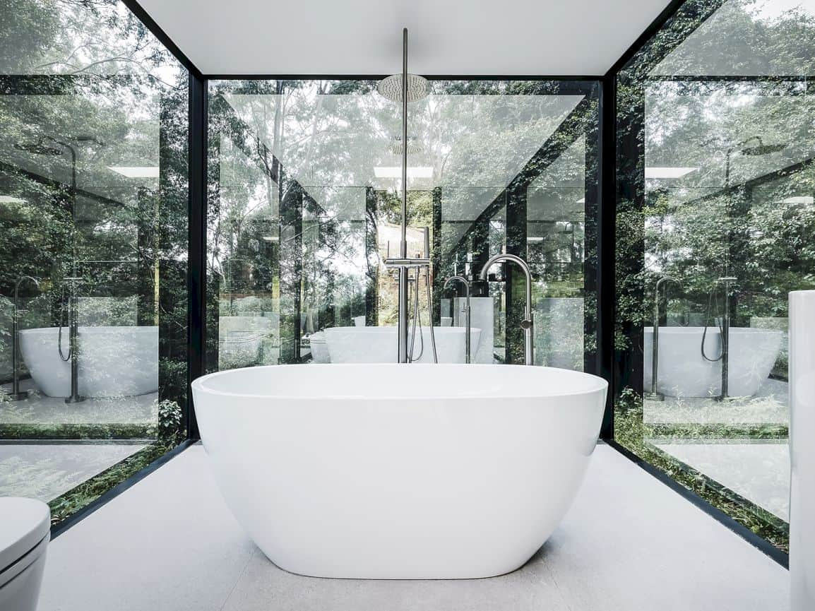 Kangaroo Valley Outhouse By Madeleine Blanchfield Architects 4