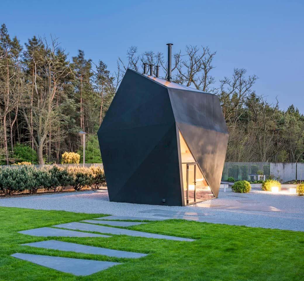 Origami House By Medusa Group 4