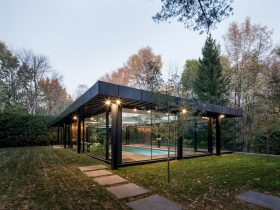 Pavillion A By Maurice Martel Architecte 4