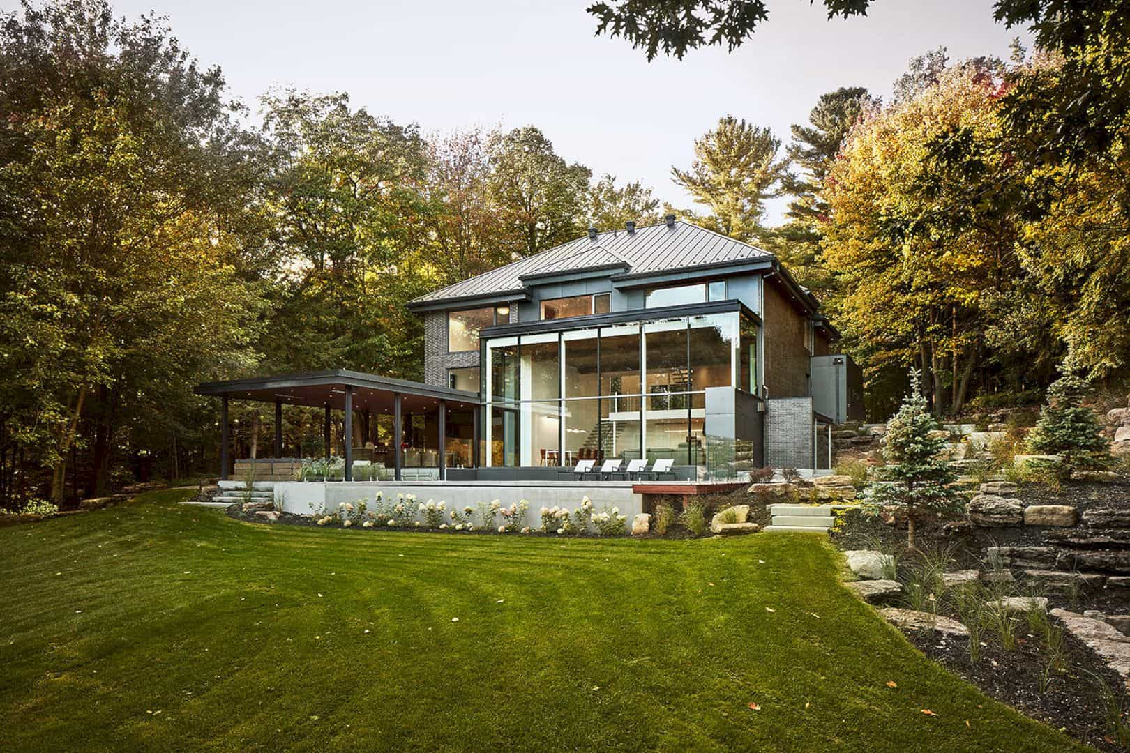 Residence M By Maurice Martel Architecte 14