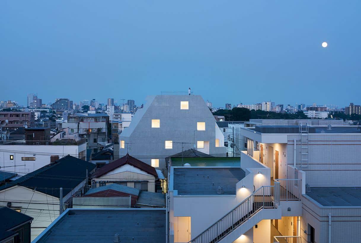 Kitasenzoku Apartment By Tomoyuki Kurokawa Architects 1