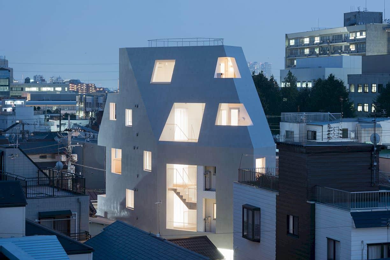 Kitasenzoku Apartment By Tomoyuki Kurokawa Architects 2