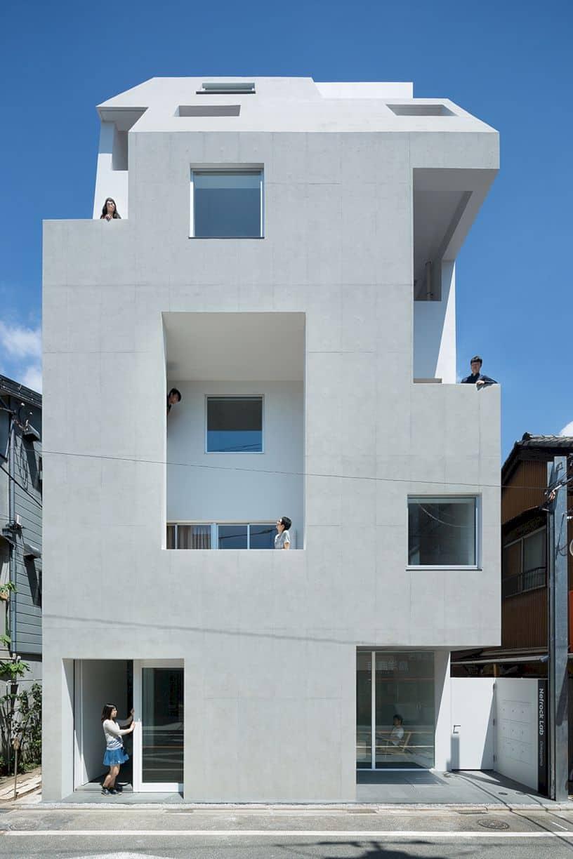Kitasenzoku Apartment By Tomoyuki Kurokawa Architects 9
