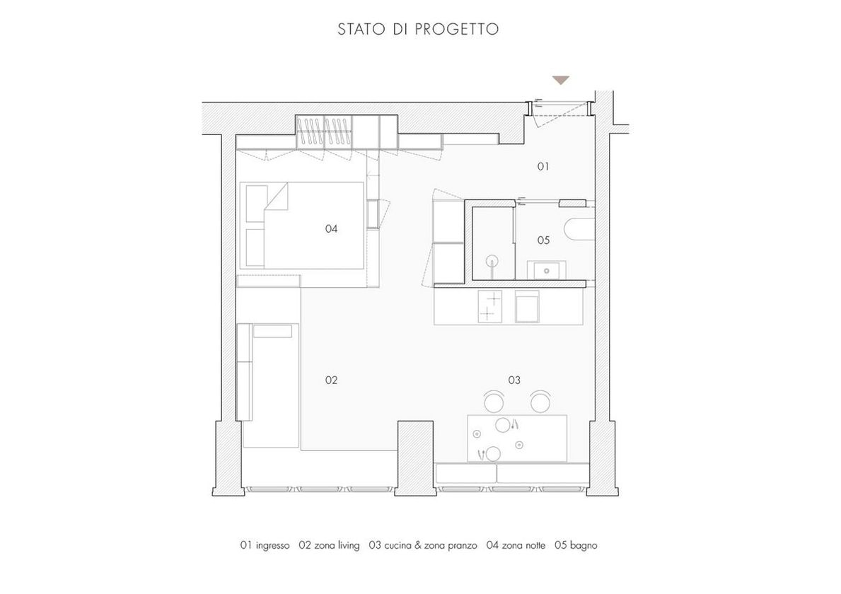 One Room Five Places By Tommaso Giunchi Architetto 10